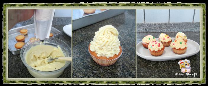 Cupcake de fécula de batata 11