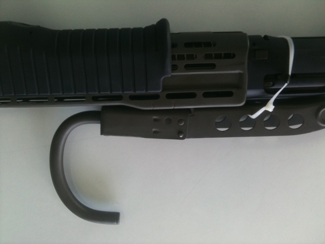 Doc Duracoat: Detail views of SPAS shotgun