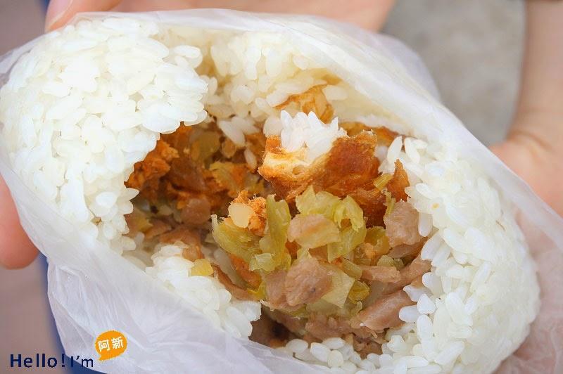 沙鹿早餐,阿水飯糰-6