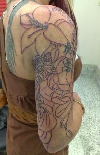 half sleeves tattoos