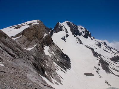 El Mont Perdut i la canal central