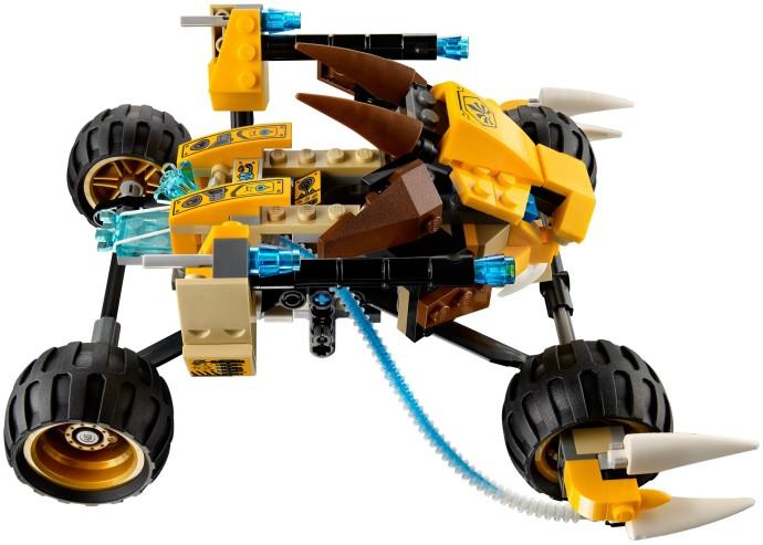 レゴ チーマ レノックスのライオン・アタック 70002