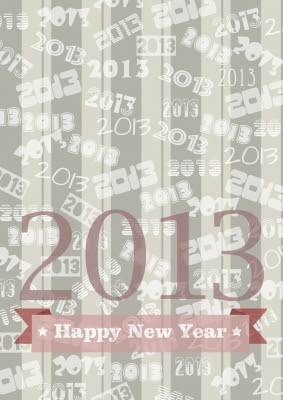 greetings, occasions, Happy New Year, 2013