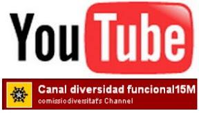 Canal de Youtube de Diversitat Funcional BCN 15M