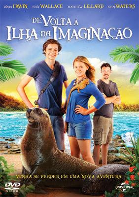 Filme Poster De Volta a Ilha da Imaginação BDRip XviD Dual Audio & RMVB Dublado