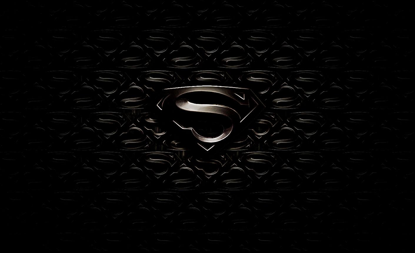 Superman Logo Black And White Wallpaper Superman Logo Black And White