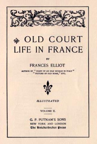 Frances Minto Elliot title=