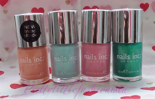 Nails Inc- Bruton Lane, Tilney Street, Warwick Avenue and Queen Anne Street