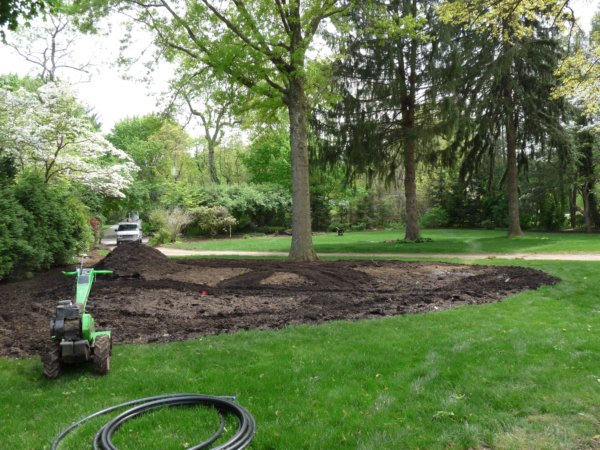 compost added and tilled