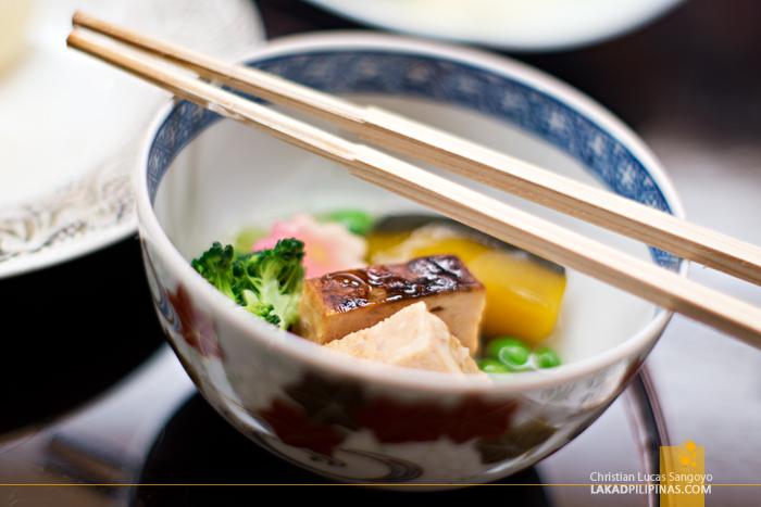 Kaiseki Meal at Sakura Jaya in Tokyo