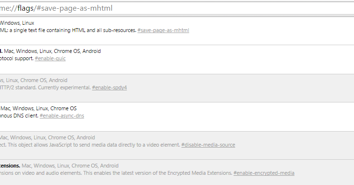 Mengaktifkan Fitur Simpan Berkas Berformat MHTML pada Google