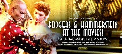 Orlando Phil presents Rodgers & Hammerstein at the Movies
