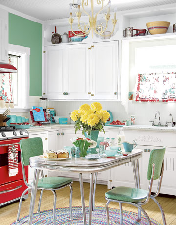 Funky Coloured Kitchen Chairs