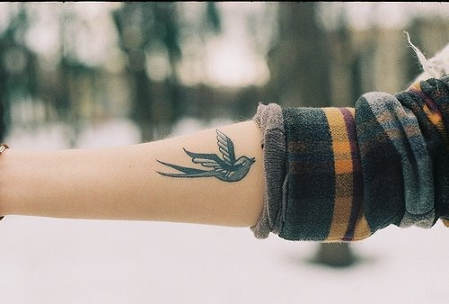 little bird tattoo