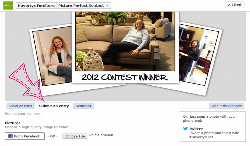 Enter the Havertys #PicturePerfect $2500 Contest