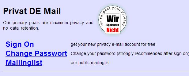 Private De Mail