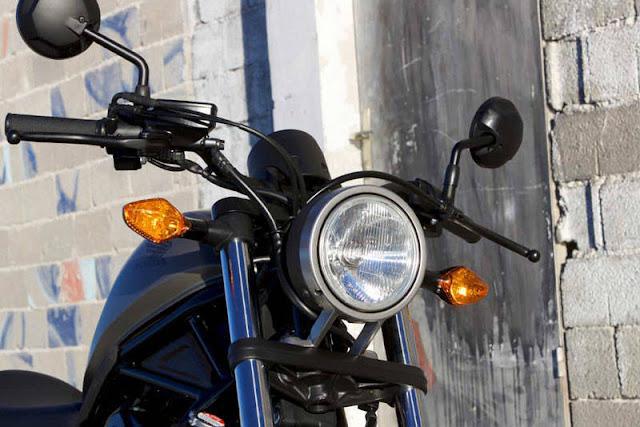 Honda Rebel 300 Chóa Đèn