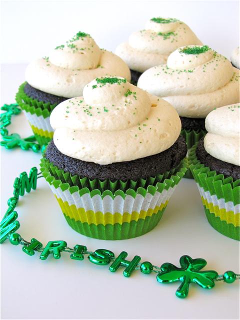 Susi's Kochen Und Backen Adventures: St. Patrick's Day Cupcakes