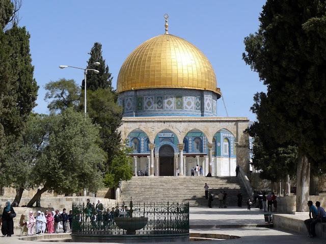 Spianata delle Moschee  e Cupola della Roccia
