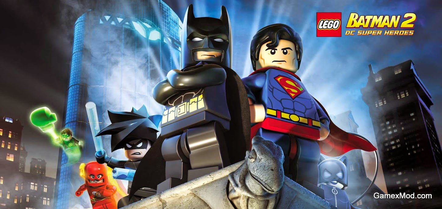 LEGO Batman 2 DC Super Heroes-RELOADED For PC Direct Link - Game Screenshot