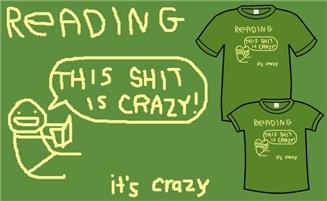 Hark a Vagrant Reading shirt