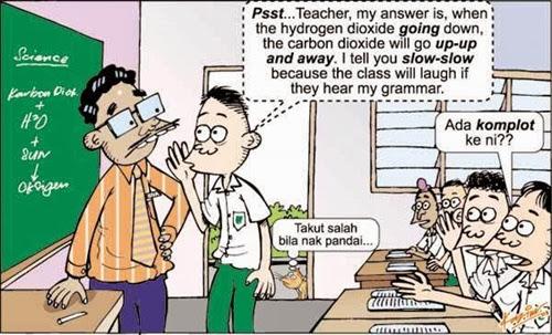 kartun lawak bahasa inggeris