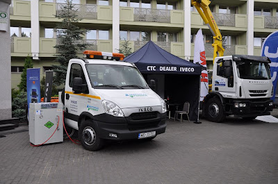 Iveco Daily Natural Power (CNG) z kompresorem CNG marki Coltri
