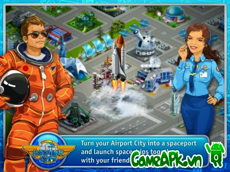 Airport City v4.3.2.1 hack full tiền cho Android