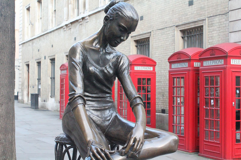 La ballarina de l'Òpera de Londres