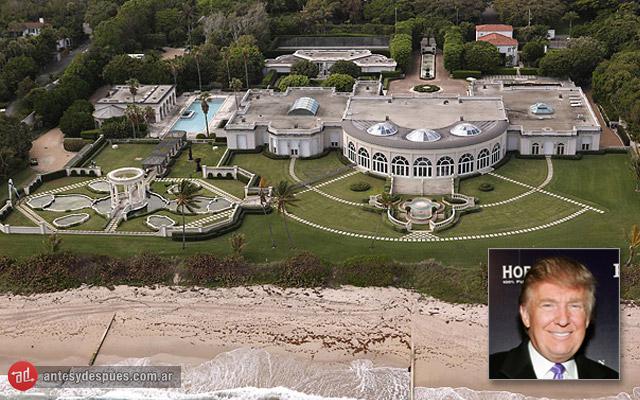 La casa de Donald trump