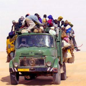 immigrazione, deserto
