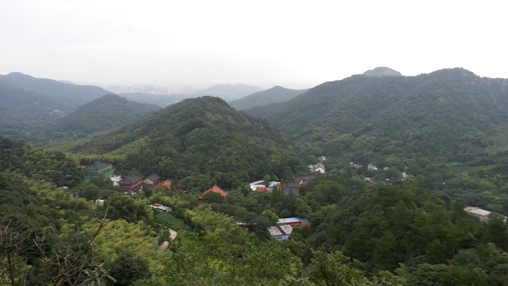 Hangzhou Hills around Lingyin Temple