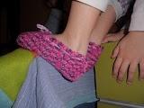 Patron zapatillas ganchillo