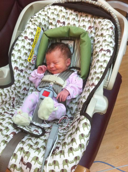 And Baby Makes Three...: Big Girl Car Seat