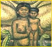 Goddess Bachue Image