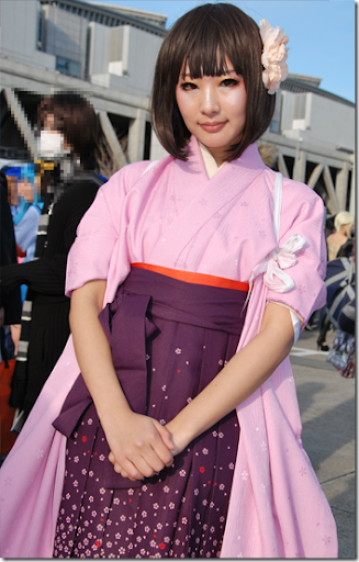 unknown cosplay 96 from winter comiket 2010 - hetalia: axis powers cosplay - japan female version aka honda sakura