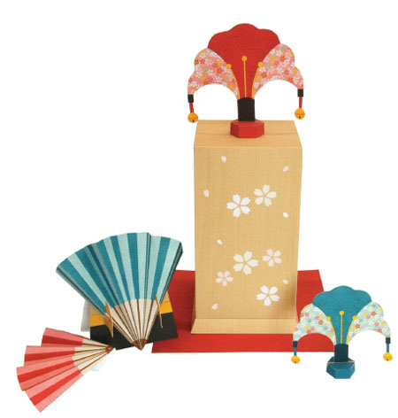 Tosenkyo Papercraft Fan Tossing Game