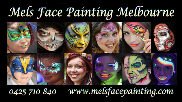 Mels face painting melbourne google for Face painting business