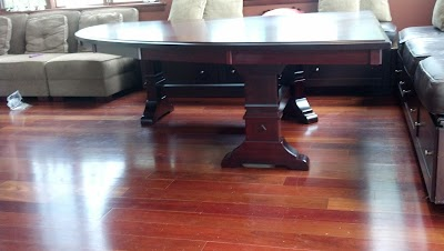 94″ Custom Tuscany Dining Table in Rose Maple