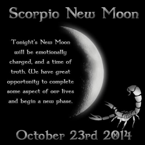 Octobers New Moon Is Upon Us And This One Promises To Be