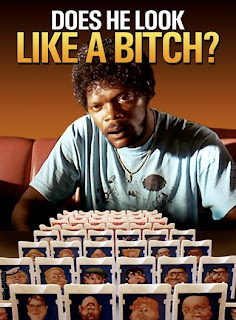 guess who game pulp friction samuel jackson does he look like a bitch, guess who game, pulp friction, samuel jackson, does he look like a bitch, pulp friction samuel jackson, samuel jackson does he look like a bitch