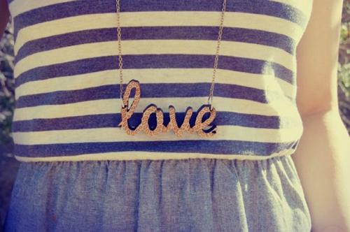 halsband / love necklace