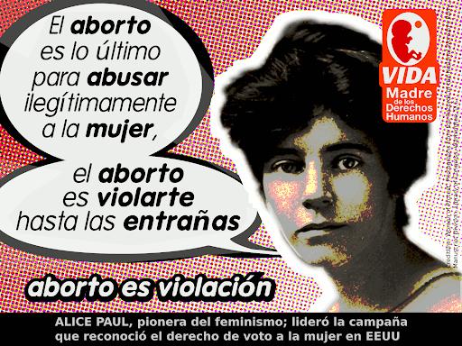 Aborto es una Violación