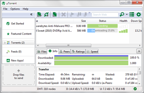 uTorrent 3.4.1 Portable