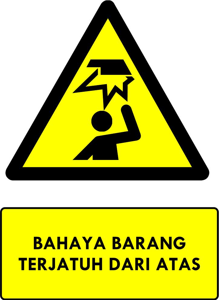 Rambu Bahaya Kejatuhan Barang