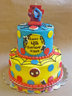 SPIDERMAN CAKE extravaganza!!! Made for a VERY special birthday boy :)
