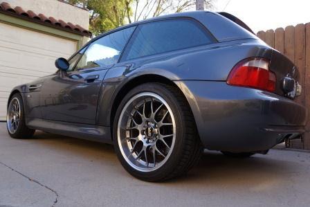 Z3 E36/7 FS: BBS RS-GT Wheels & Bridgestong Potenza RE050A Tires, Z3