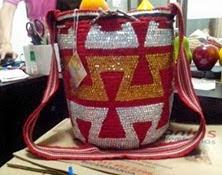 Mochila Wayuu Decorada Ref. 1