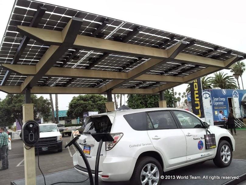 Lumos' solar carport
