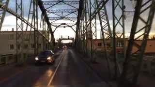 Komarno - Komárom Duna híd video